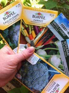seeds for fall garden in Florida