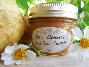 Sand Pear Conserve