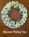 More Cakes with Russian Piping Tips